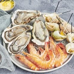 Assiette de fruits de mer Filière Qualité Carrefour