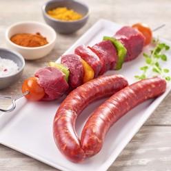 Assortiment de viande de bœuf a griller