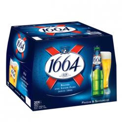 20 Bières blondes premium 1664