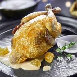 4 Cailles farcies figues / foie gras