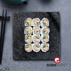 9 california rolls tuna (thon)