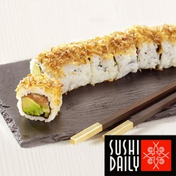8 Crunch Saumon Roll