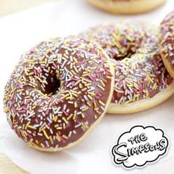 4 donuts Simpson chocolat