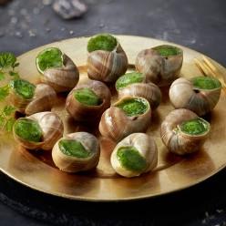 12 escargots de Bourgogne - recette à la Bourguignonne