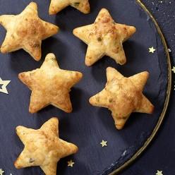 6 Étoiles apéritives Truite Fumée et Poireaux