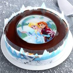Gâteau Reine des Neiges