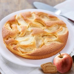 Moelleux aux pommes spéculoos - 6 parts