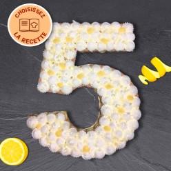 Number Cake - Numéro 5