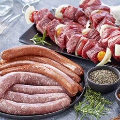Plateau barbecue boeuf
