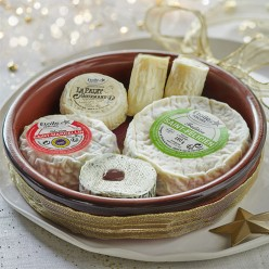 Plateau céramique 6 fromages