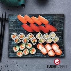 Plateau sushis love - 32 pièces