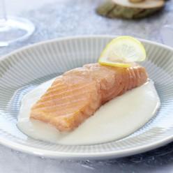 Saumon sauce beurre blanc chablis