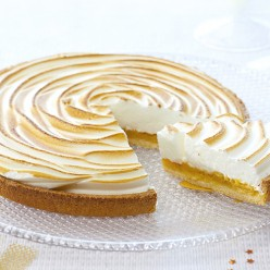 Tarte citron meringuée - 6 parts