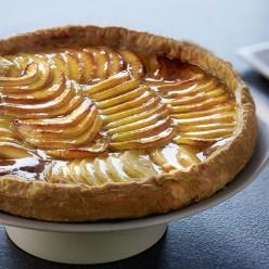 Tarte vergeoise aux pommes - 6 parts