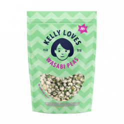 Wasabi Peas - Kelly Loves