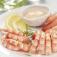 Couronne de queues de crevettes sauce asie (Image n°1)