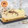 La Bûche crème au beurre vanille (Image n°1)