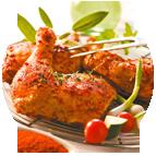 Poulet rôti certifié (1/8ème du poulet)