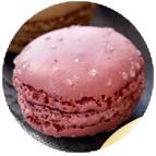 Macarons framboise/groseille