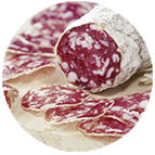 Chiffonnade de saucisson italien (10g)