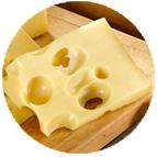 Emmental de SavoieIndicatiion Géographique Protégée (au lait cru de vache - 150g)