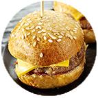 Minis cheeseburgers (40g)