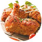 Poulet certifié rôti Carrefour (1/6ème du poulet)