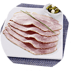 Tranches de jambon à l'ancienne Label Rouge (60g)
