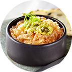 Tartare de saumon, citron et aneth (500g)