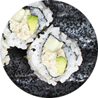 California rolls tuna (thon)