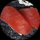 Nigiri sushis au thon