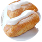 Minis éclairs garniture vanille
