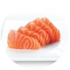 Sashimis saumon