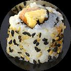 California saumon fromage crémeux