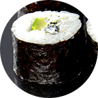 Maki fromage aneth