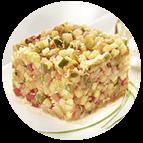 Tartare de légumes (parts de 100g)