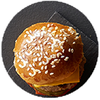 Minis cheese burger (40g)