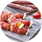 Brochettes de porc (200g)