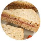 Sandwiches rillettes aux 2 saumons et sel de Guérande