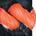 Nigiri sushis au saumon