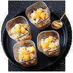 Verrines surimi, crevettes et écrevisses (35g)