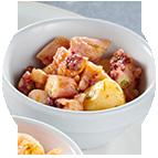Calamars marinés sel et poivre