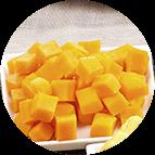Dés de mimolette / gouda (120g)