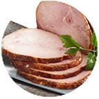 Rôti de porc cuit (tranche de 40g)