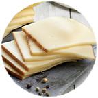 Tranches de raclette Reflets de France  (au lait cru de vache, 30% de MG dans le produit fini) (100g au total)