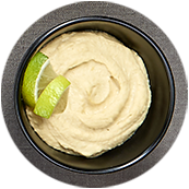 Houmous au yaourt grec et citron vert