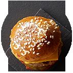 Minis veggie burgers