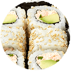 Maki California Saumon Cuit