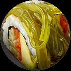 Wakame Veggie Roll