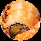 Dragon Roll Saumon